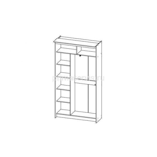 Классик Каркас 2х дверный, 440 схема