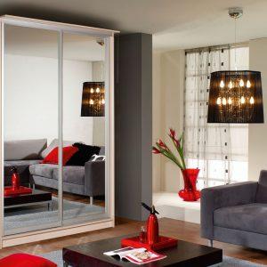 Люкс двухдверный с зеркалом