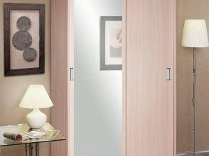 Шкаф Классик двух дверный с зеркалом