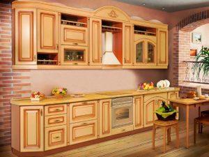 Кухни с патиной