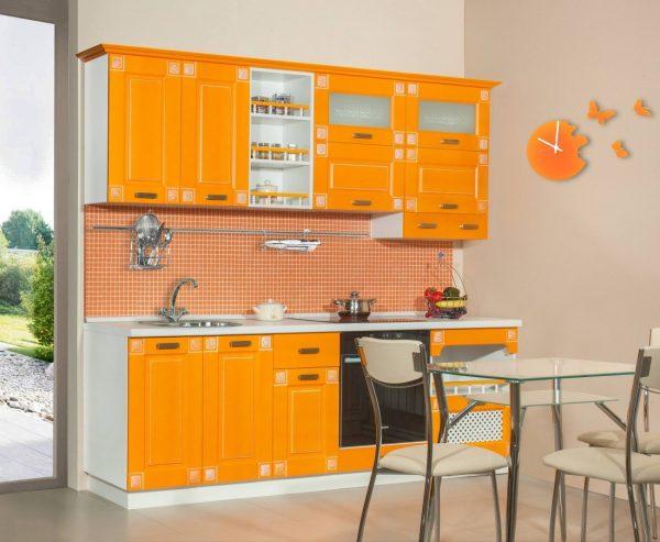 Патина оранжевый крашеный
