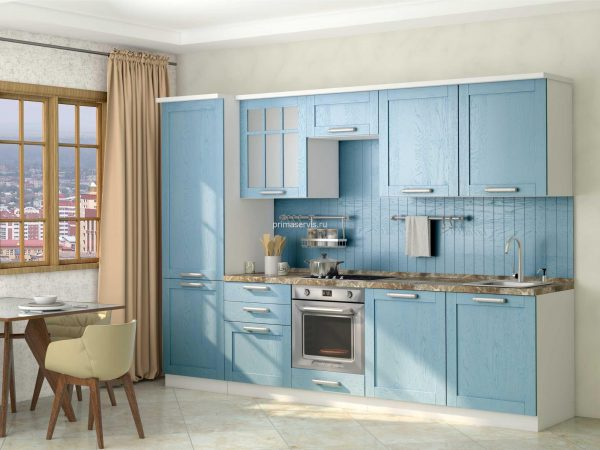 Кухни из рамочных фасадов
